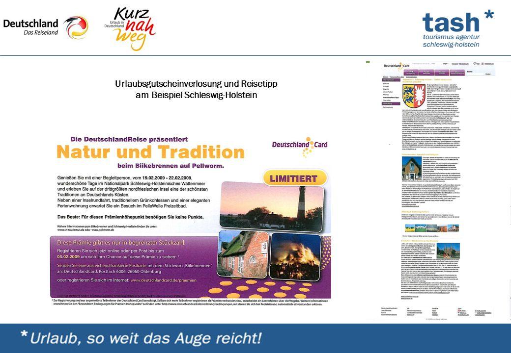 Urlaubsgutscheinverlosung und Reisetipp am Beispiel Schleswig-Holstein