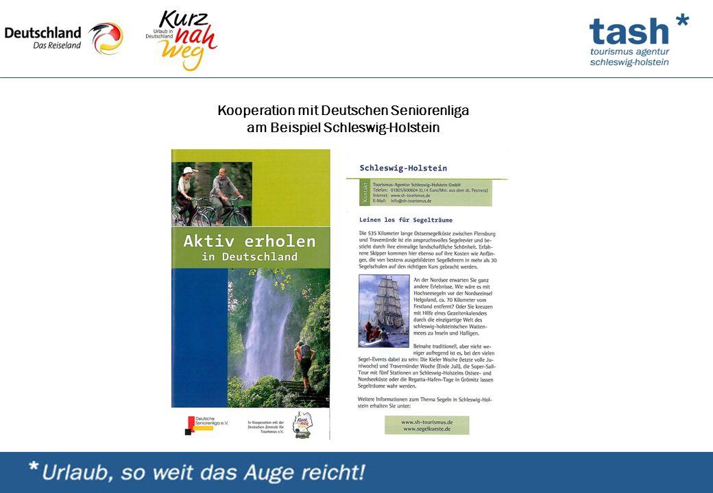 Kooperation mit Deutschen Seniorenliga am Beispiel Schleswig-Holstein