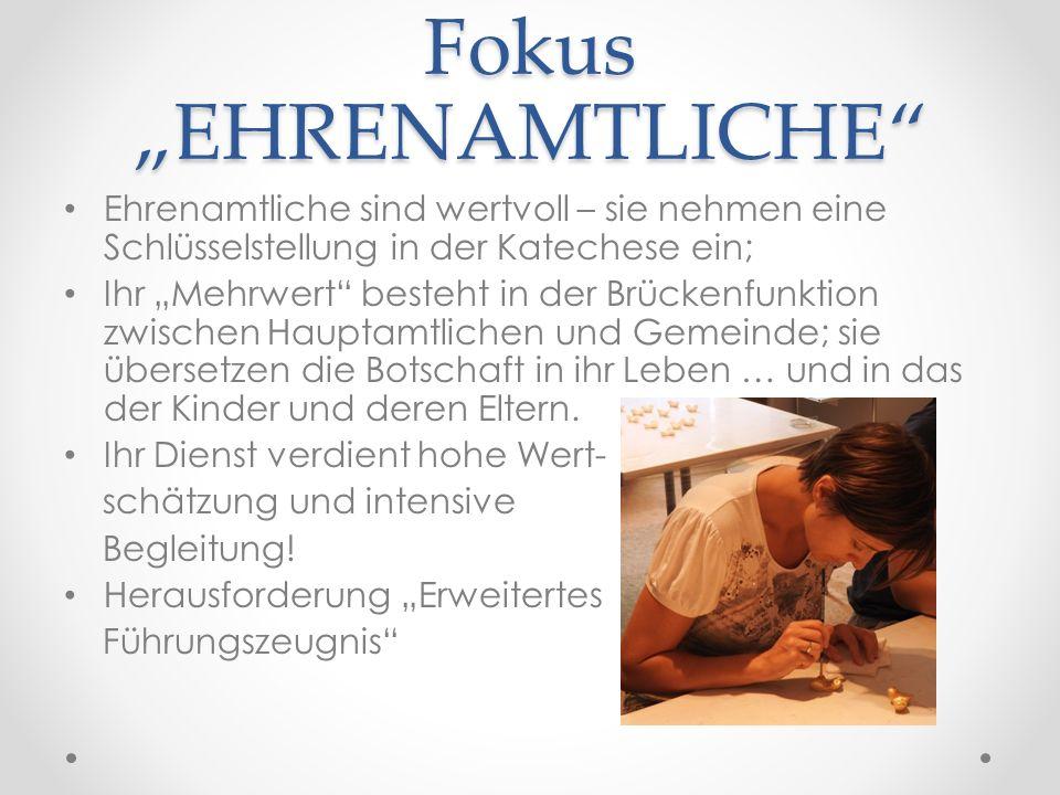 """Fokus """"GEMEINDE Pfarrgemeinde ist (ein) wichtiger Lernort des Glaubens; Kirche kann nie """"gemeindelos sein."""