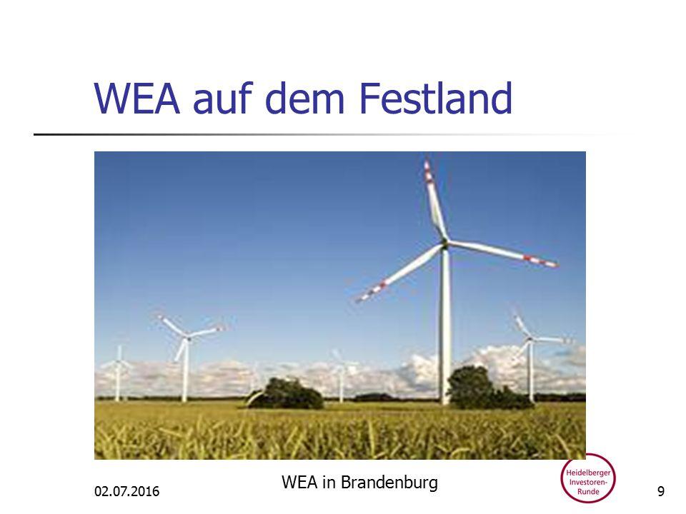 WEA auf dem Festland 02.07.2016 WEA in Brandenburg 9
