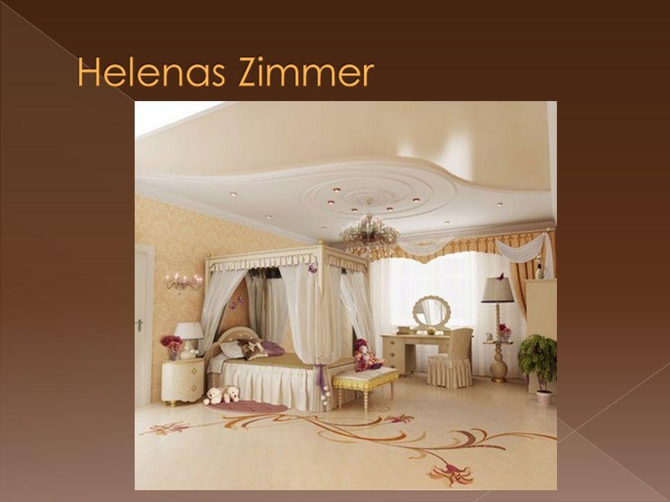  Helenas Zimmer ist groß und luftig.