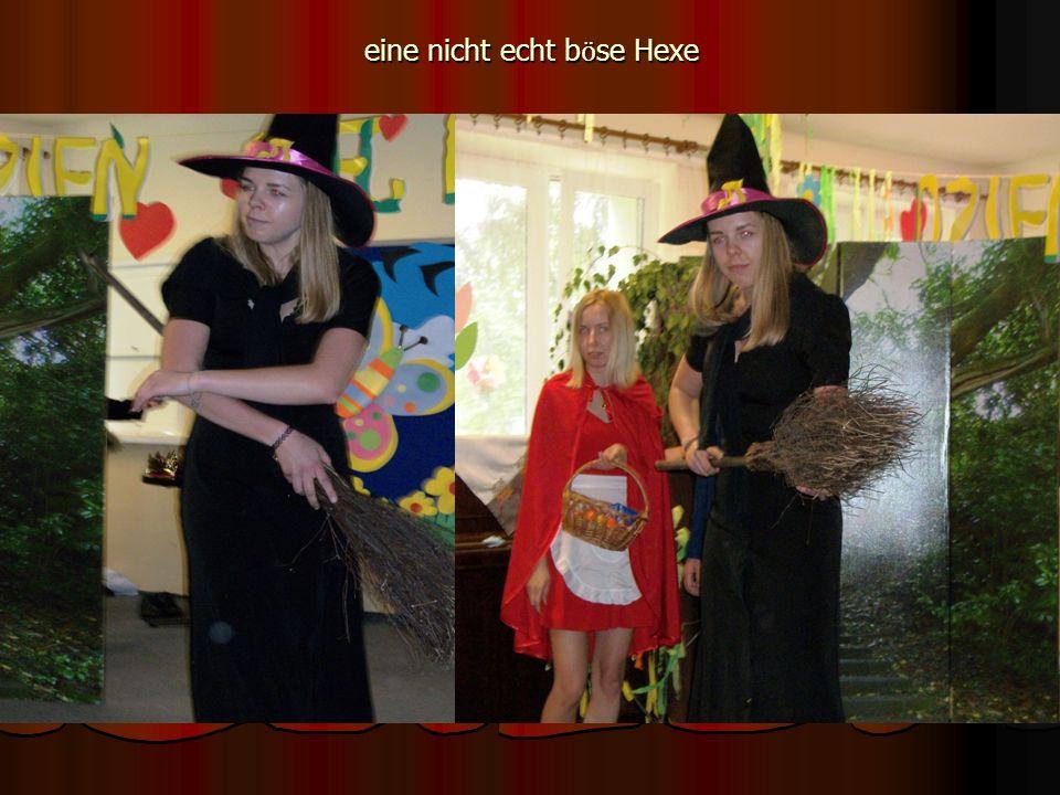 eine nicht echt b ӧ se Hexe