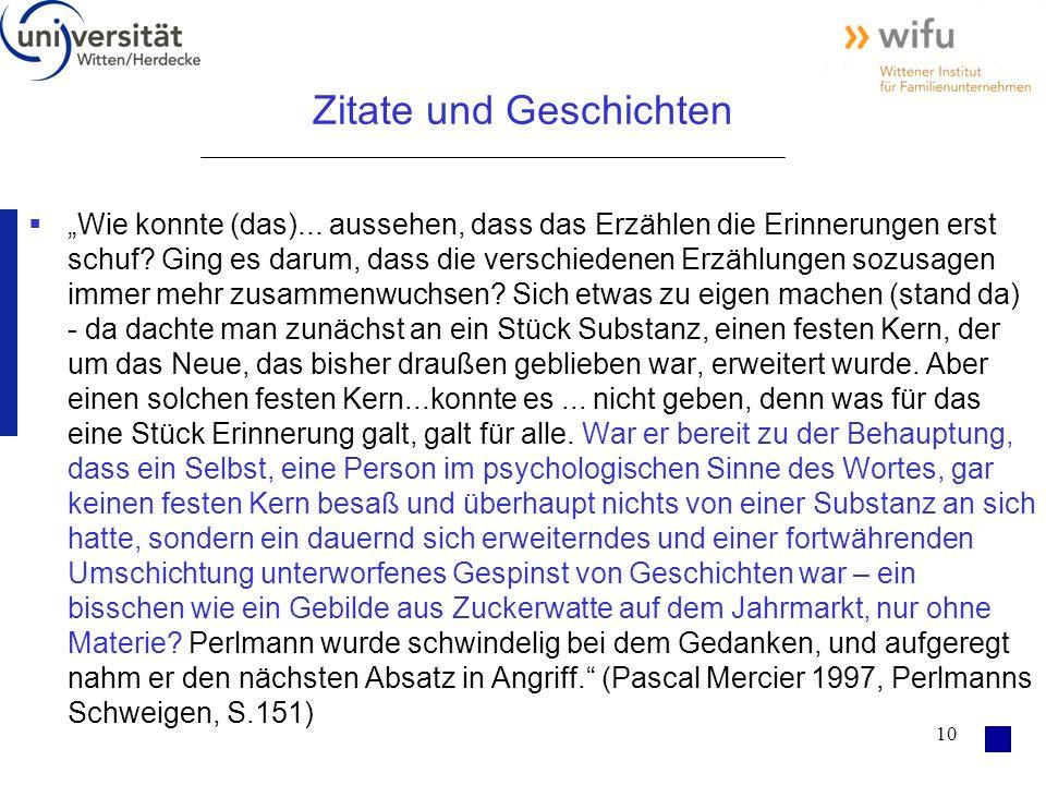 """10 Zitate und Geschichten  """"Wie konnte (das)..."""