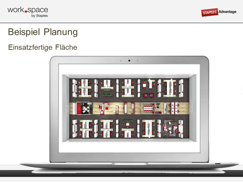 Einsatzfertige Fläche Beispiel Planung