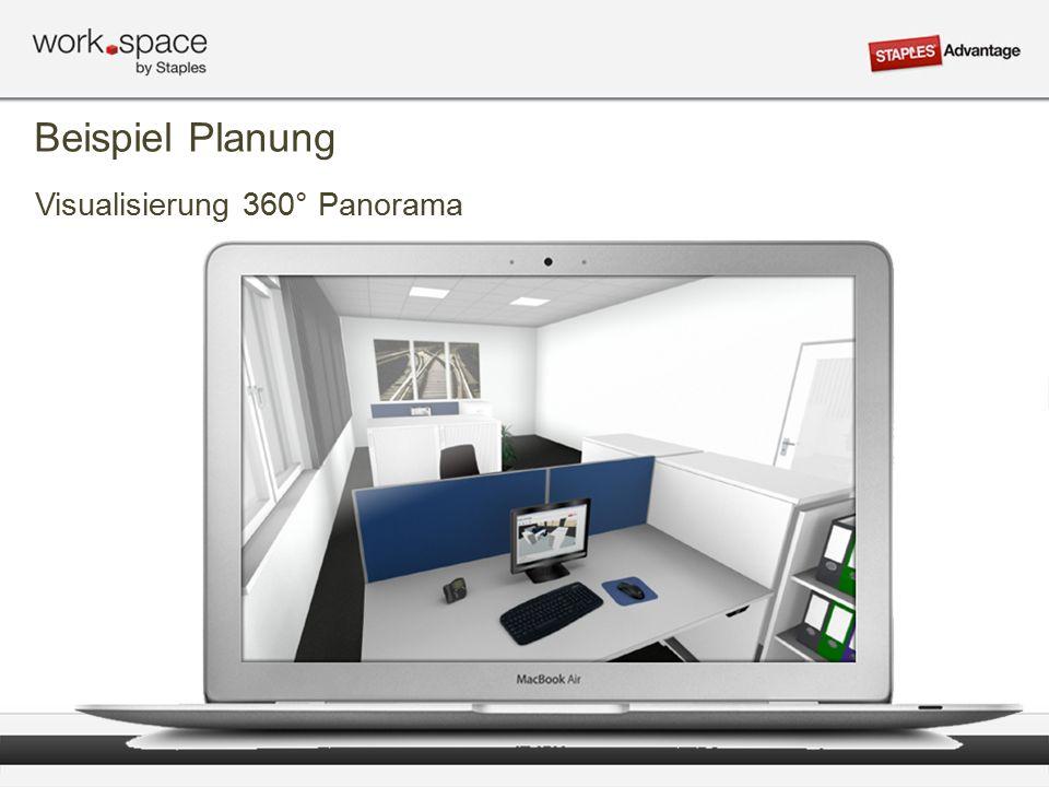 Visualisierung 360° Panorama Beispiel Planung
