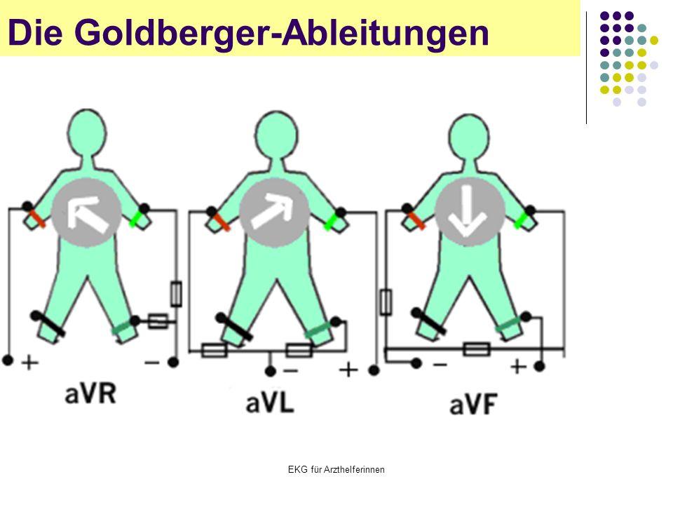 EKG für Arzthelferinnen Die Goldberger-Ableitungen