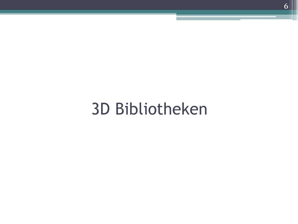 3D Bibliotheken 6
