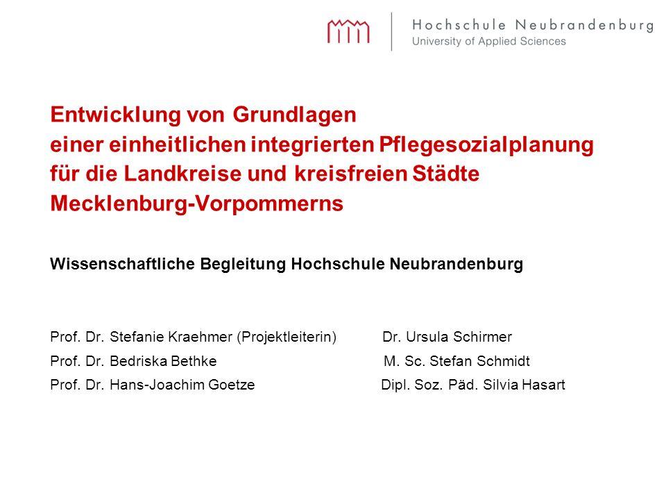 Prof. Dr. Stefanie Kraehmer (Projektleiterin) Dr.