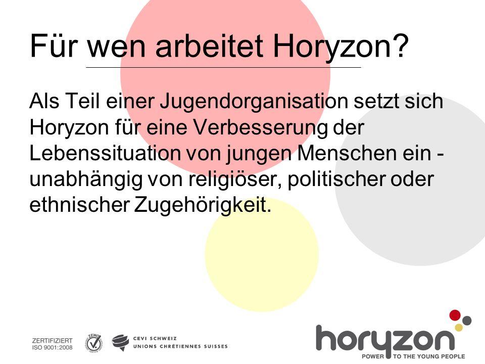 Für wen arbeitet Horyzon.