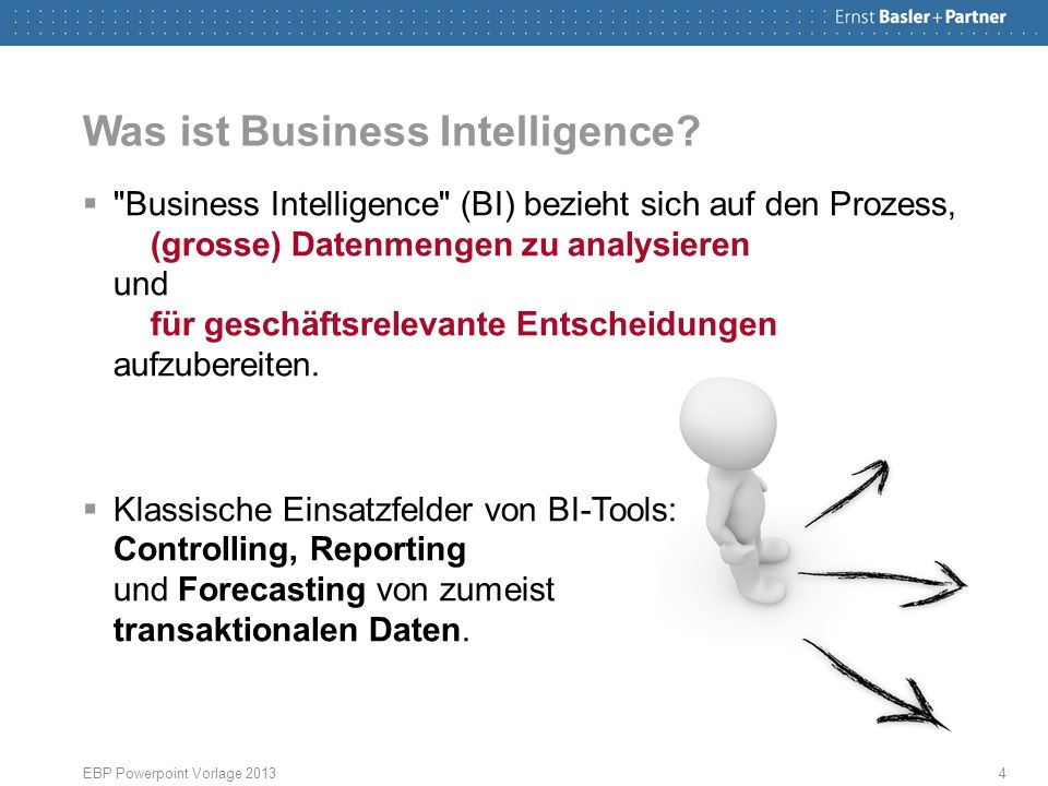 Was ist Business Intelligence? 