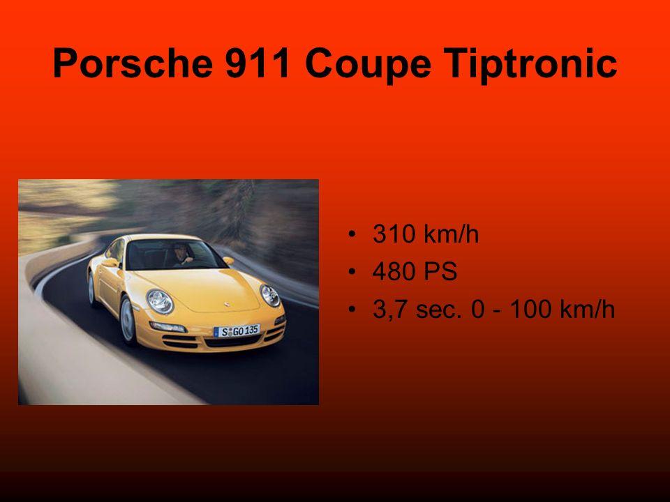 Porsche 911 Coupe Tiptronic 310 km/h 480 PS 3,7 sec. 0 - 100 km/h