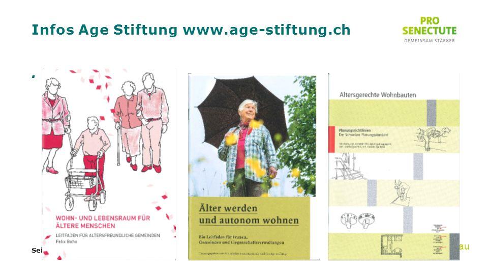 Infos Age Stiftung www.age-stiftung.ch. Seite 25 Emmental-Oberaargau