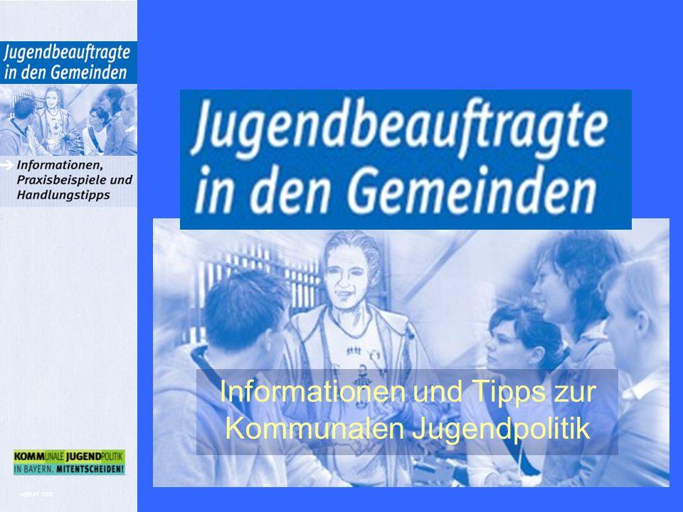 wp/BJR 2008 Informationen und Tipps zur Kommunalen Jugendpolitik