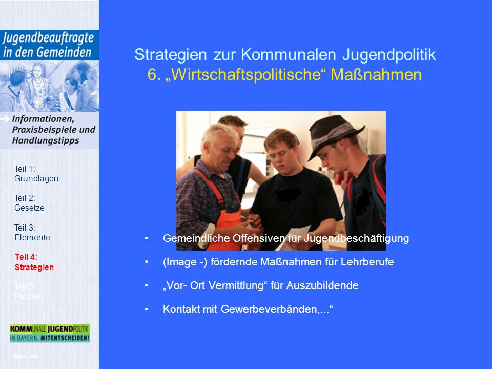 wp/BJR 2008 Strategien zur Kommunalen Jugendpolitik 6.