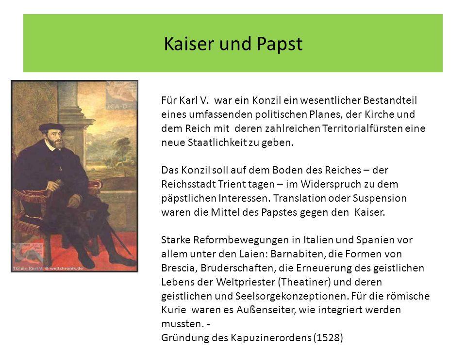 Aus der Bulle Pauls III.Zur Berufung des Konzils von Trient, 19.
