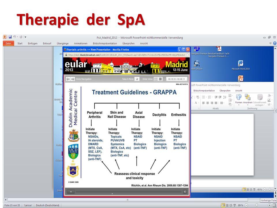 Therapie der SpA
