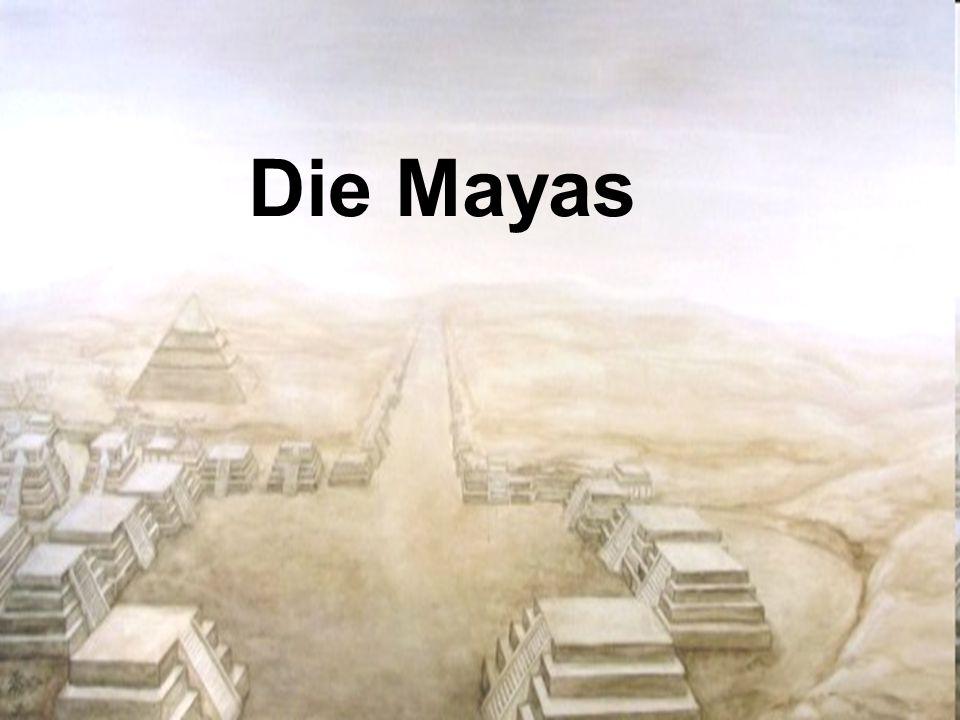 Das Ende der Maya-Kultur Auftreten der Tolteken Einfluss auf Maya-Kultur (Kriegs- und Militärkult, grausame Gottheiten und Opferrituale) Kampf um Vorherrschaft 1250 Liga von Maypan Mitte 15.