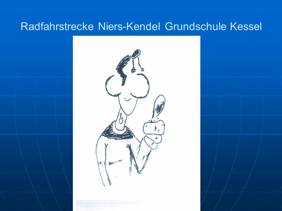 Radfahrstrecke Niers-Kendel Grundschule Kessel
