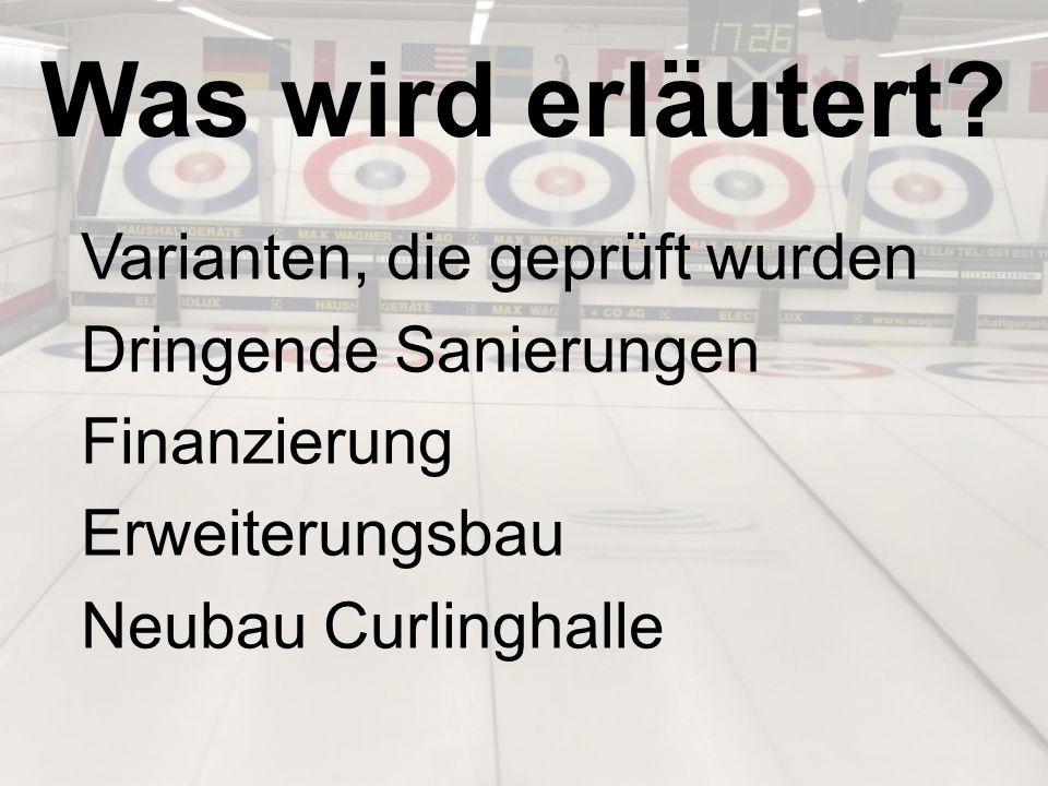 Ja, wir wollen weiterhin Curling in Basel