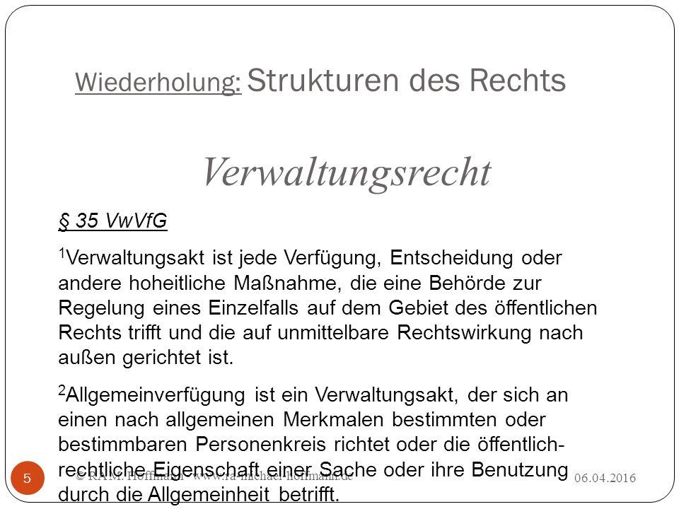 Systematik des § 7 UWG 06.04.2016 © RA M.Hoffmann - www.ra-michael-hoffmann.de 26 I.