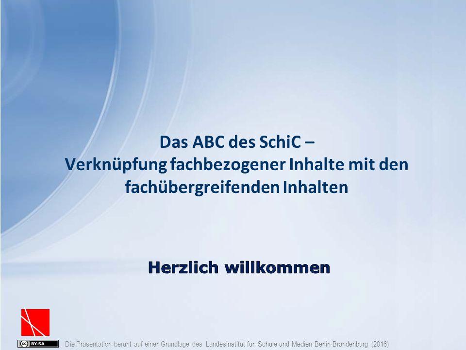 Die Präsentation beruht auf einer Grundlage des Landesinstitut für Schule und Medien Berlin-Brandenburg (2016) Prozess - Worauf ist zu achten.