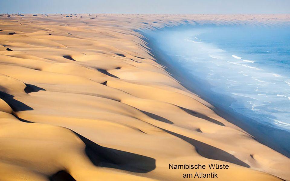 Namibische Wüste am Atlantik
