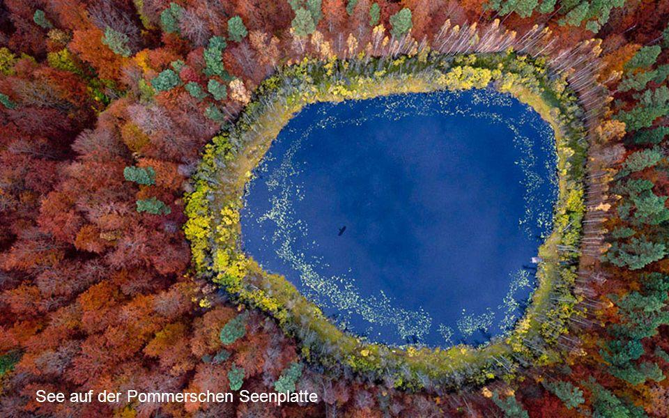 See auf der Pommerschen Seenplatte