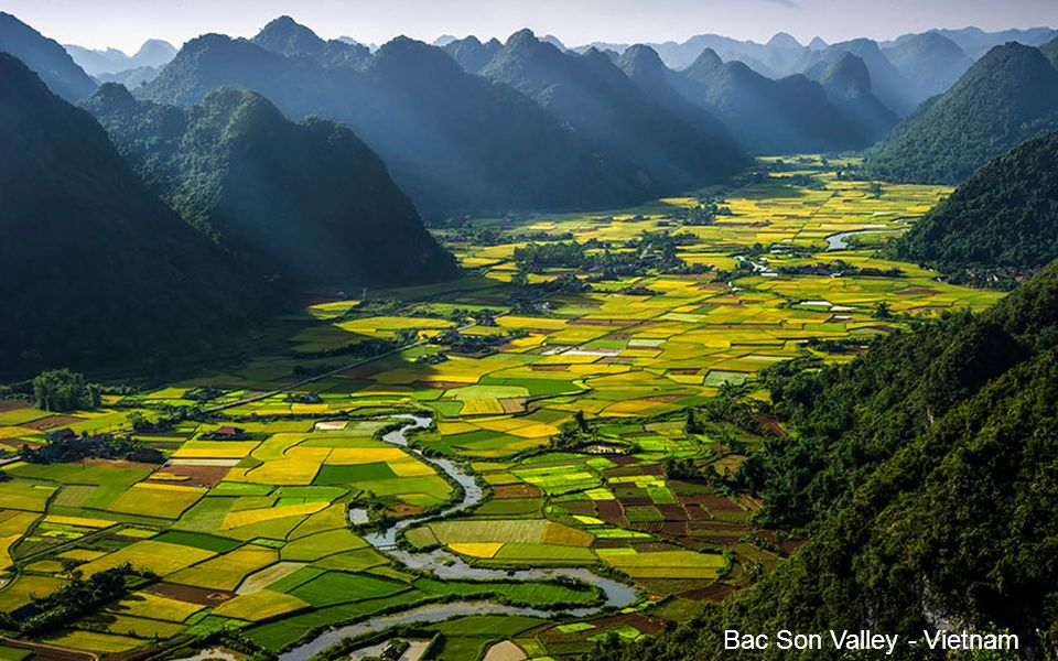 Bac Son Valley - Vietnam