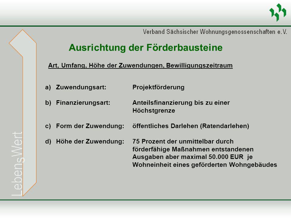 Art, Umfang, Höhe der Zuwendungen, Bewilligungszeitraum Ausrichtung der Förderbausteine a)Zuwendungsart: Projektförderung b)Finanzierungsart: Anteilsf