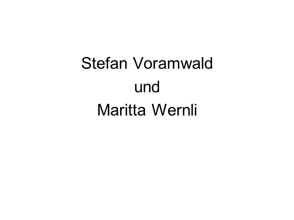 Stefan Voramwald und Maritta Wernli