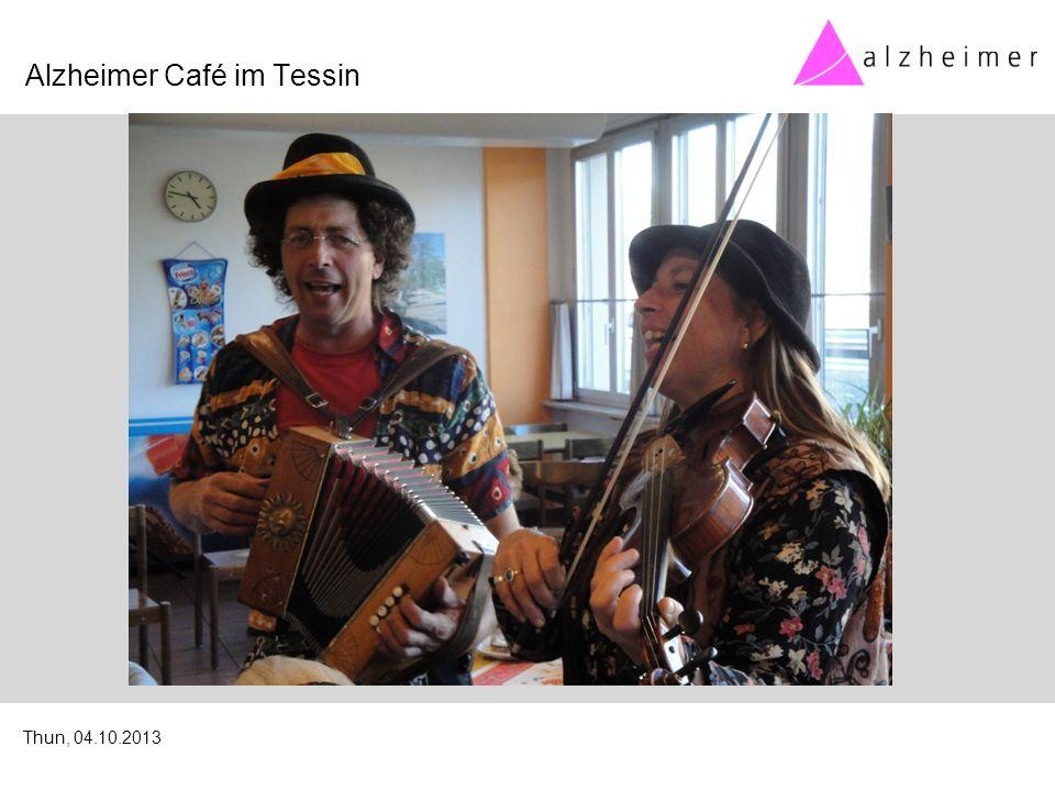 Alzheimer Café im Tessin Thun, 04.10.2013