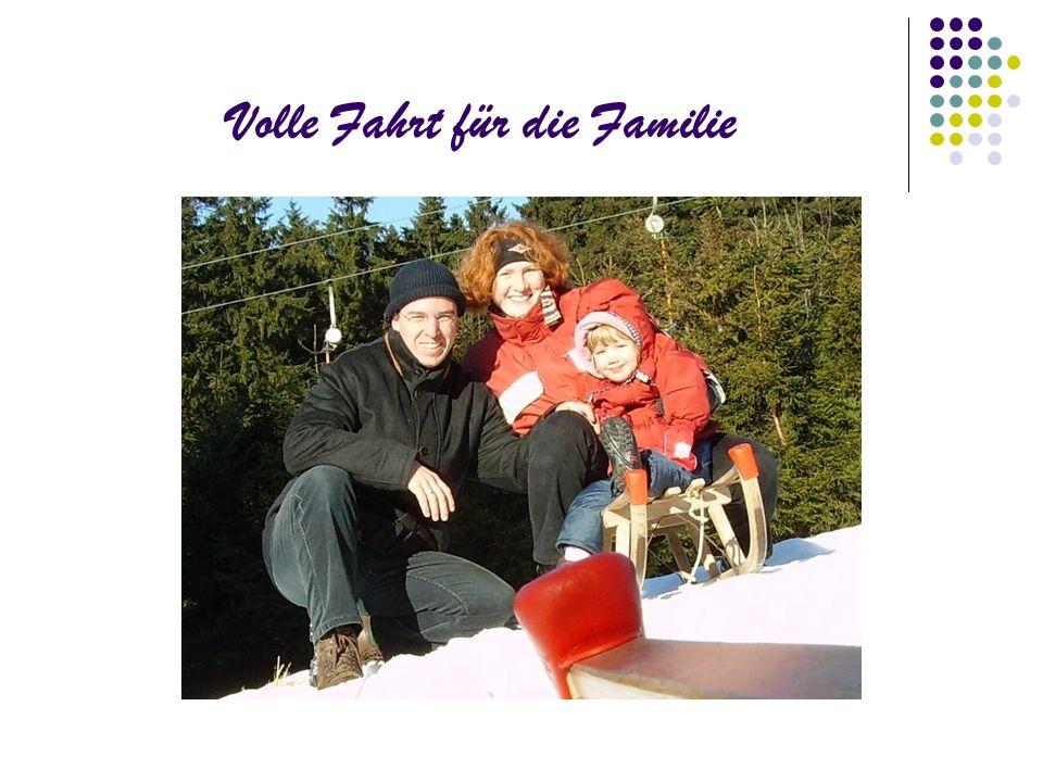 Volle Fahrt für die Familie