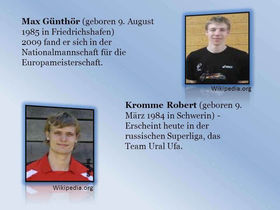 Max Günthör (geboren 9.