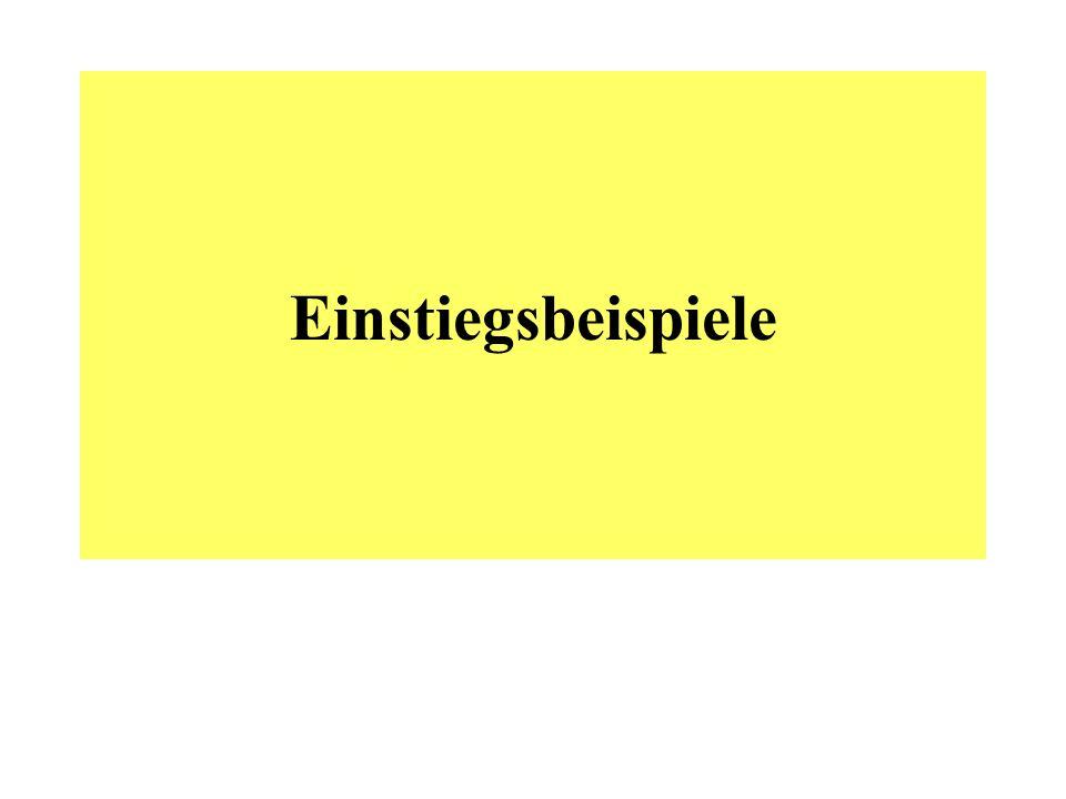 Beispiel 1 A.