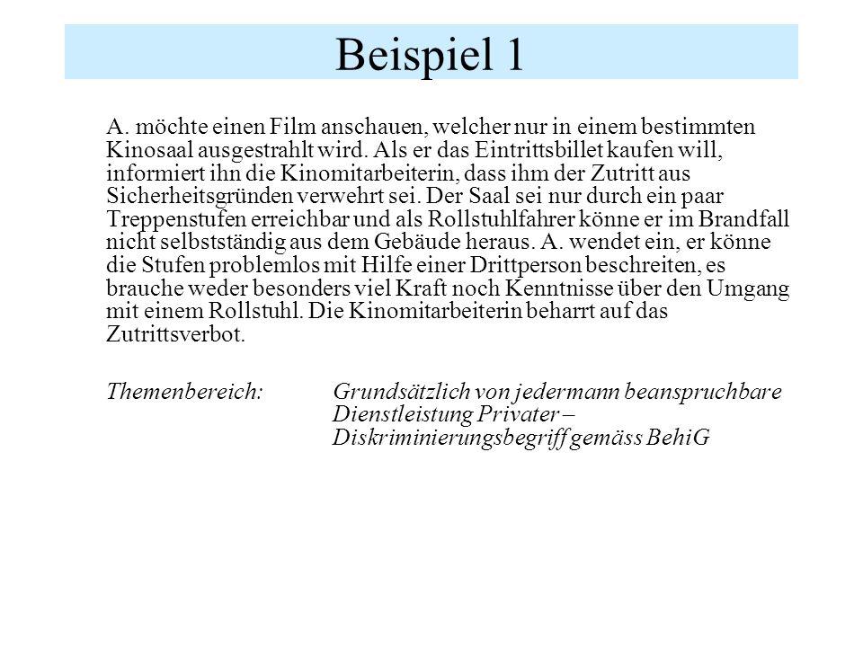 Deutschland Gesetz zur Gleichstellung behinderter Menschen vom 27.