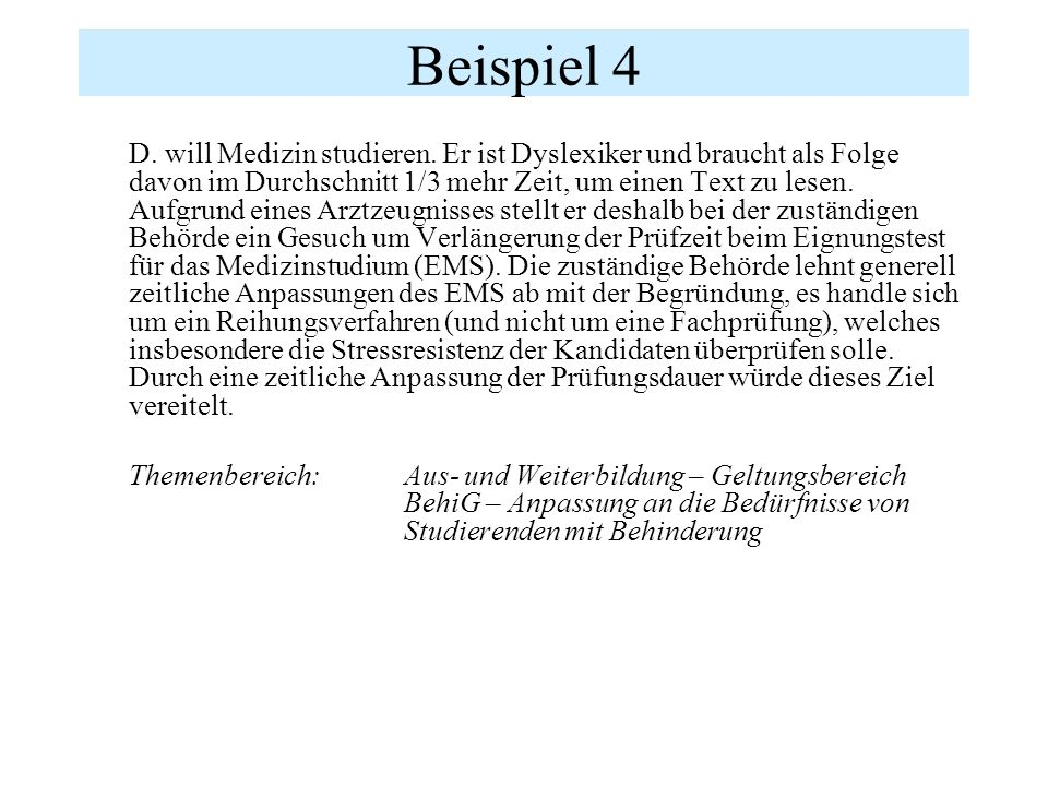 Beispiel 5 E.arbeitet bei einer kantonalen Verwaltung.