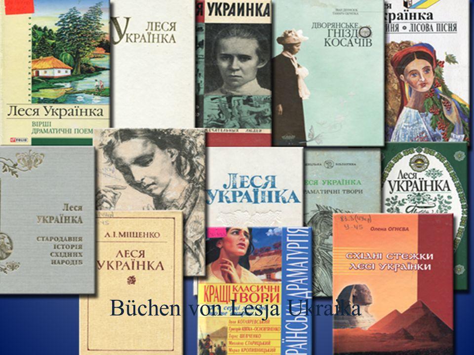 Büchen von Lesja Ukraika