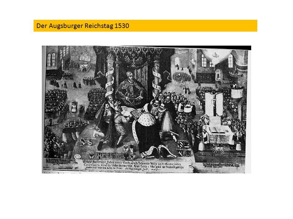 Der Augsburger Reichstag 1530