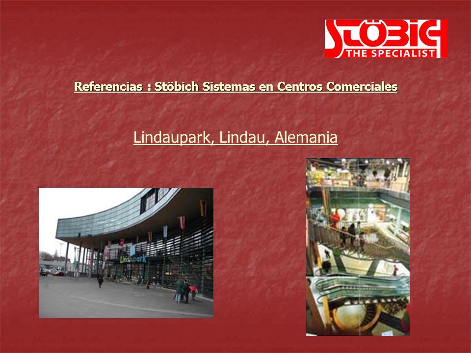 Lindaupark, Lindau, Alemania Referencias : Stöbich Sistemas en Centros Comerciales