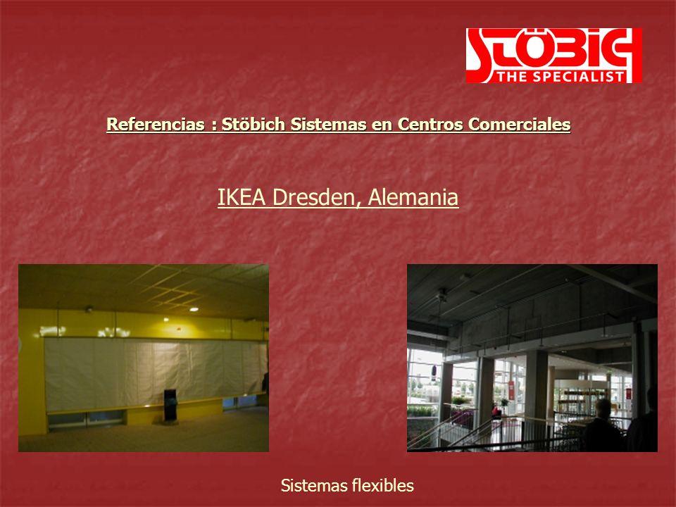 IKEA Belaja Dacha Moskau, Rusia Sistemas flexibles Referencias : Stöbich Sistemas en Centros Comerciales