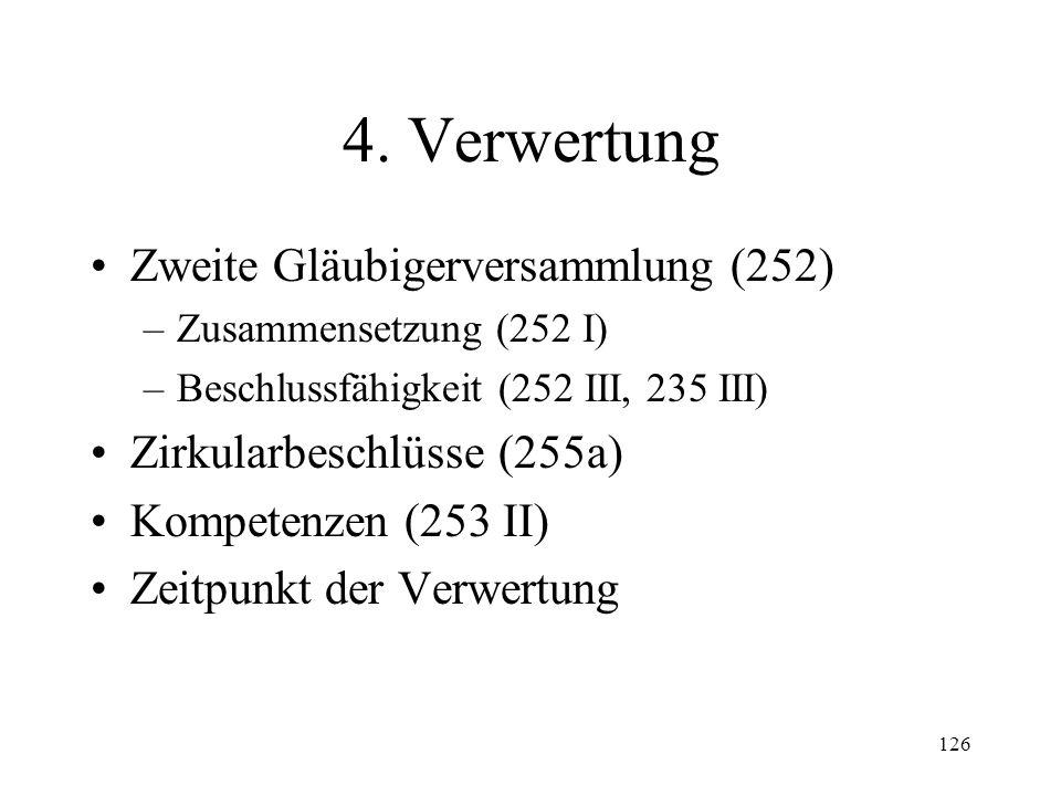 125 Fall 34 Gläubiger G erhält vom Konkursverwalter ohne weitere Begründung die schriftliche Mit- teilung, seine eingegebene Forderung sei nicht zugelassen worden.
