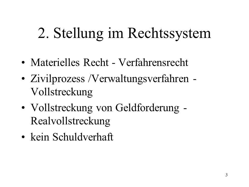 2 I. Allgemeines 1.