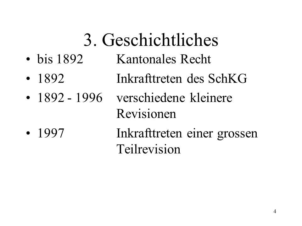 3 2. Stellung im Rechtssystem Materielles Recht - Verfahrensrecht Zivilprozess /Verwaltungsverfahren - Vollstreckung Vollstreckung von Geldforderung -