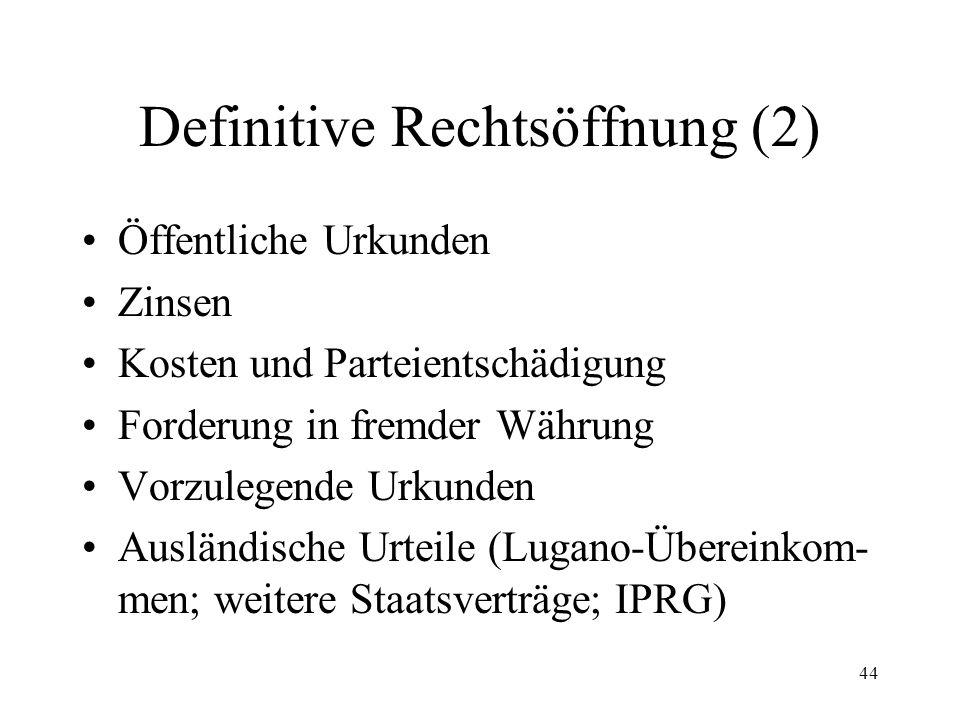 43 6. Definitive Rechtsöffnung Urteil (80 Abs.