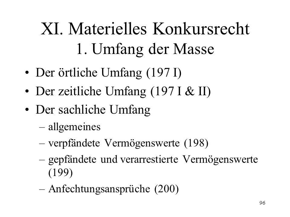 95 Fall 26 S (Geschäftsführer und Gesellschafter einer GmbH) erklärt bezüglich seinen Privatgläubigern, zahlungsunfähig zu sein und bis auf weiteres keine Rechnungen zu bezahlen.