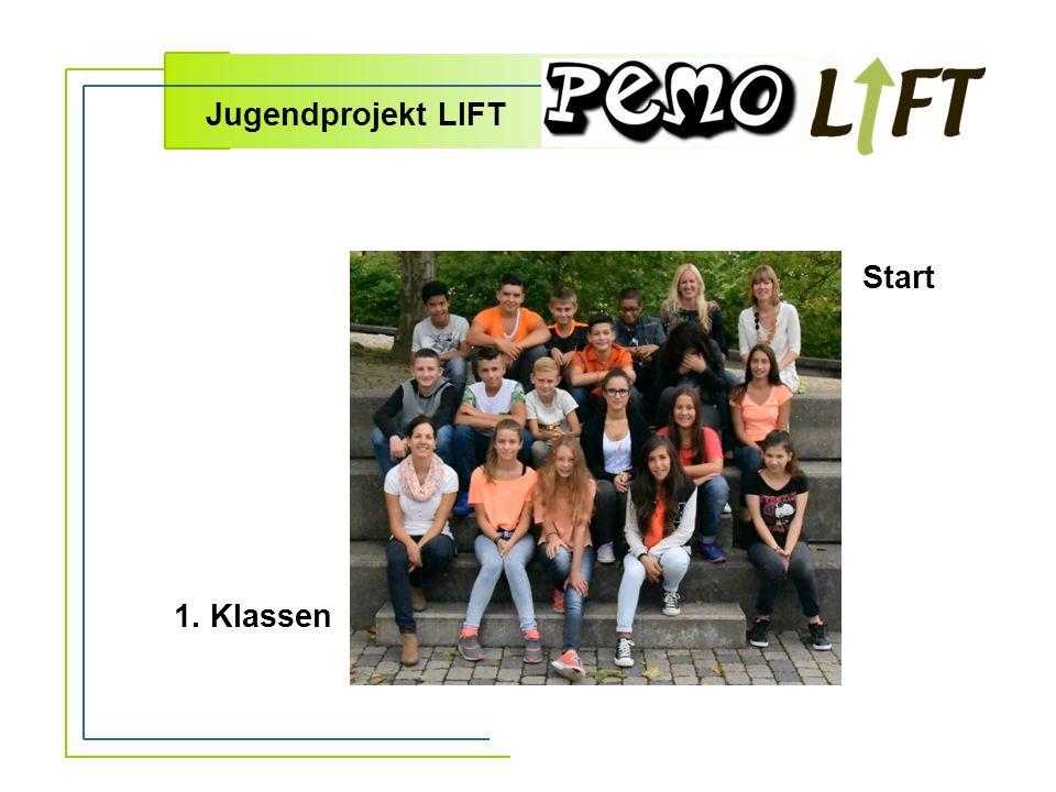 Jugendprojekt LIFT 1. Klassen Start