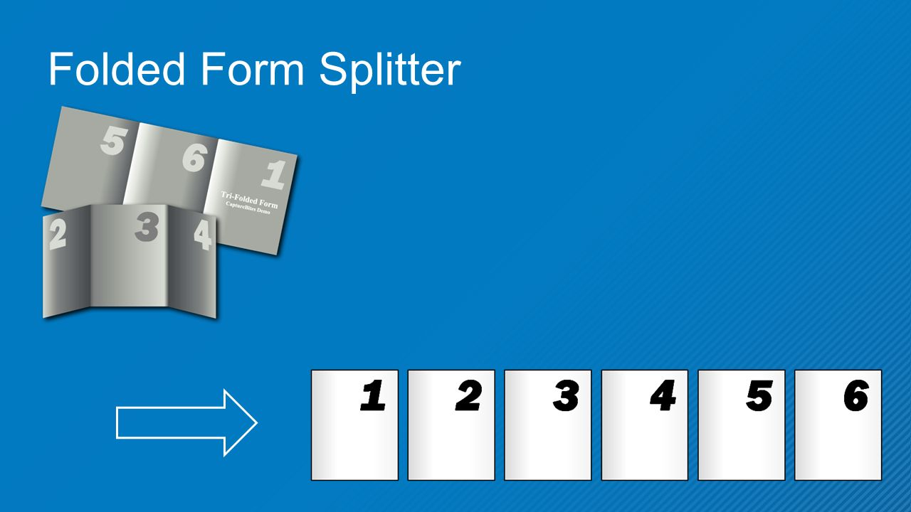 Folded Form Splitter