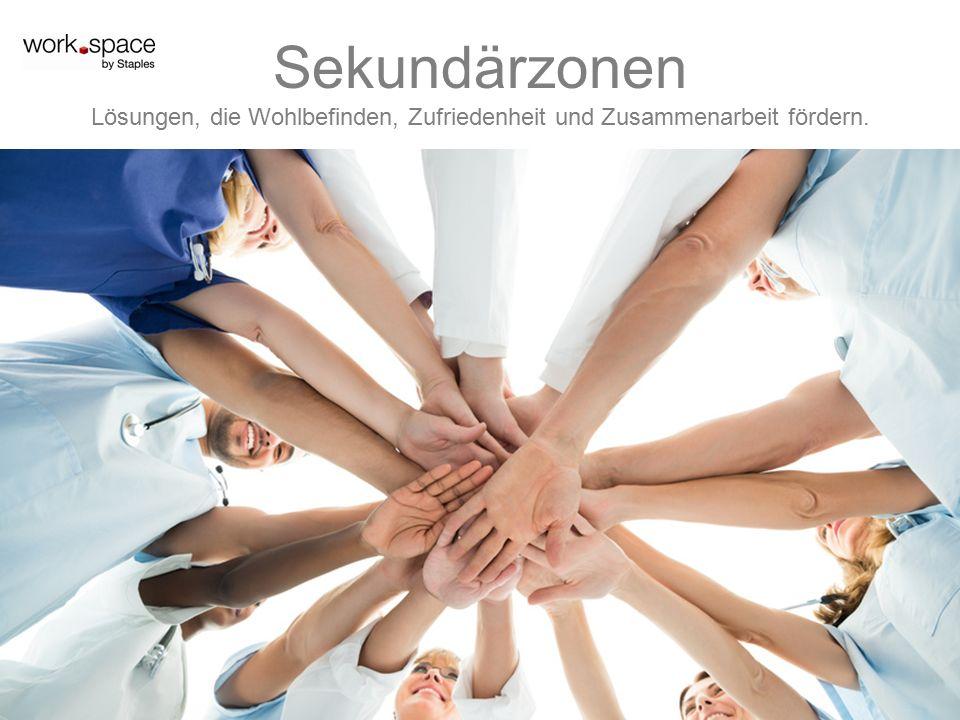 Sekundärzonen Lösungen, die Wohlbefinden, Zufriedenheit und Zusammenarbeit fördern.
