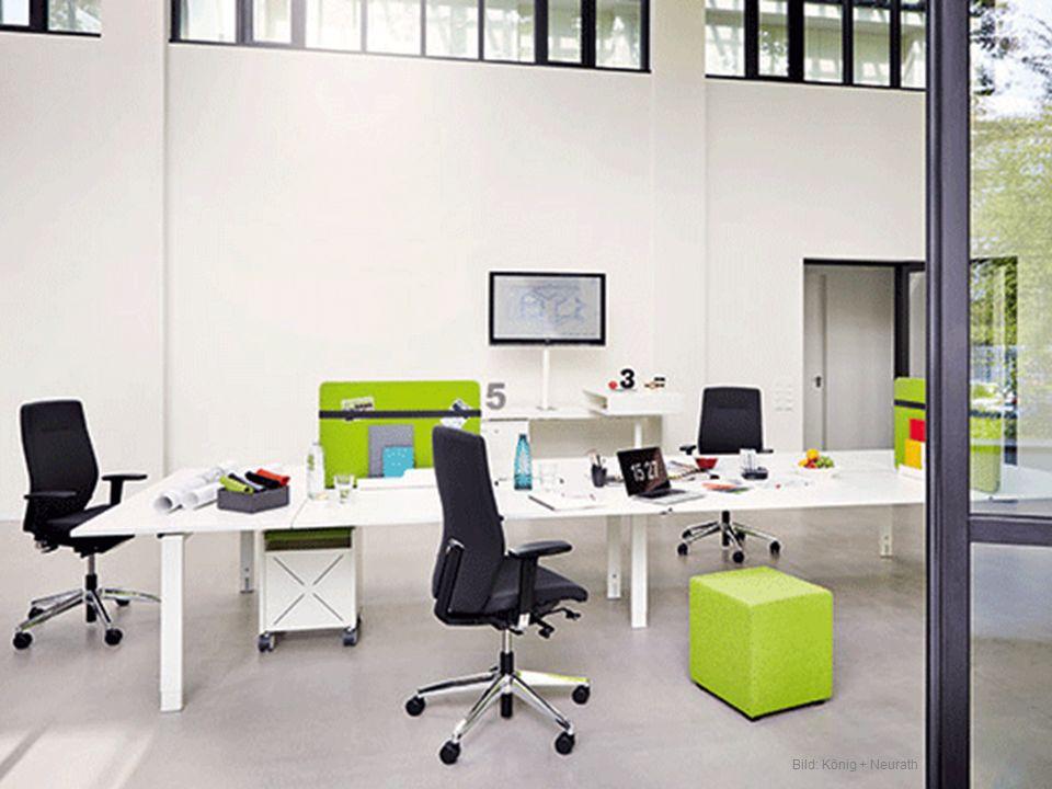 Bild: Sedus Teamwork braucht Raum und Freiheit für gemeinsame Arbeit und Kreativität.