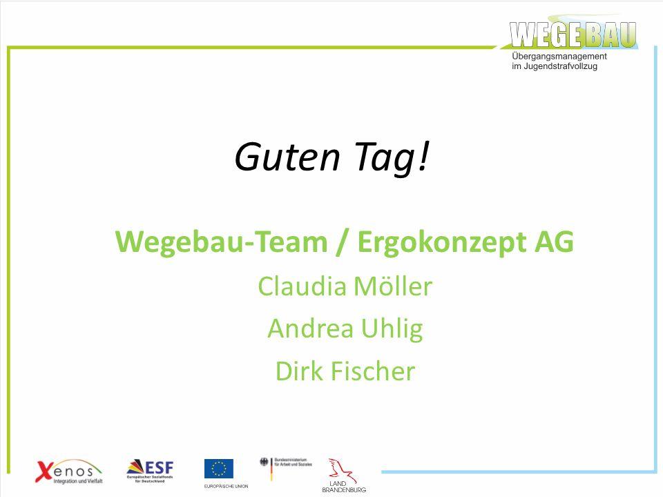 Guten Tag! Wegebau-Team / Ergokonzept AG Claudia Möller Andrea Uhlig Dirk Fischer